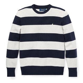 Junior Boys' [8-20] Striped Cotton Sweater