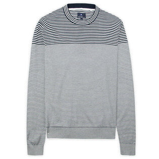 Men's Breton Stripe Knit Sweater