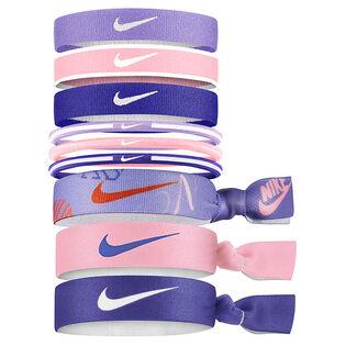 Junior Girls' [7-16] Tie-Dye Hair Tie (9 Pack)