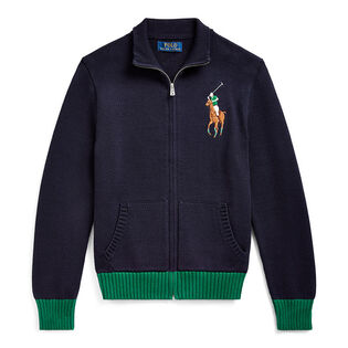 Junior Boys' [8-20] Cotton Full-Zip Sweater