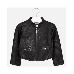 Girls' [4-6] Leatherette Jacket