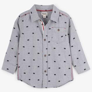 Boys' [2-6] Tiny Bears Button-Down Shirt