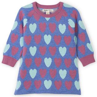 Baby Girls' [6-24M] Pretty Hearts Sweater Dress