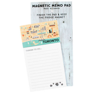 Toronto Magnetic Memo Pad