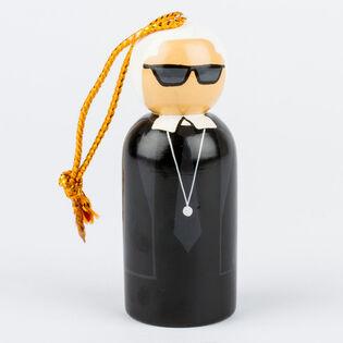 Karl Lagerfeld Peg Ornament