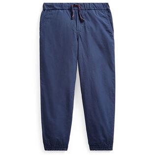Boys' [2-4] Cotton Poplin Jogger Pant
