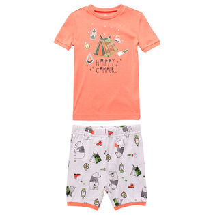 Boys' [2-7] Happy Camper Two-Piece Pajama Set