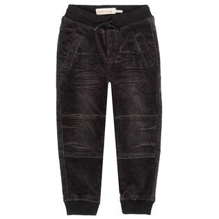 Pantalon de jogging en velours côtelé pour bébés garçons [6-24M]