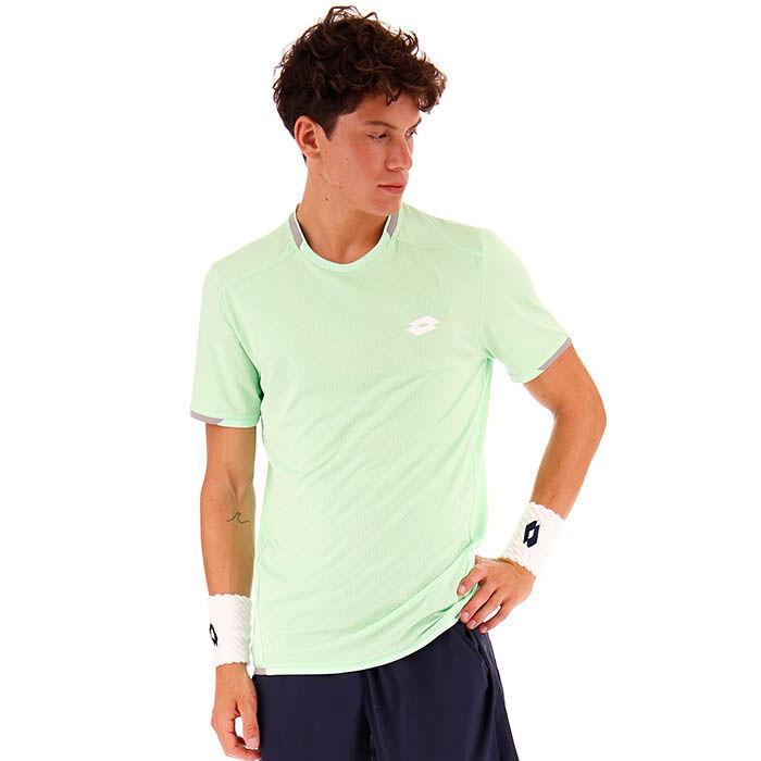 T-shirt Tennis Tech de couleur unie pour hommes