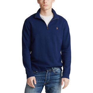 Men's Estate-Rib Cotton Pullover Sweater