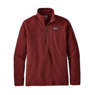 Men's 1/4-Zip Fleece Better Sweater®
