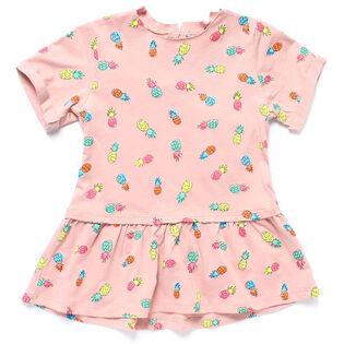 Baby Girls' [3-24M] Pineapple Print Jess Dress