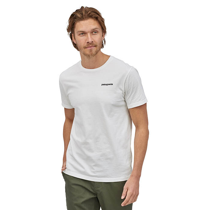 T-shirt P-6 Logo en coton biologique pour hommes
