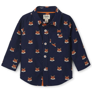Baby Boys' [3-24M] Clever Fox Shirt