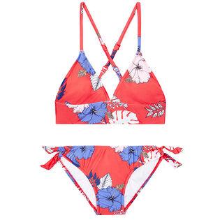 Junior Girls' [6-14] Tropical Vibes Two-Piece Bikini