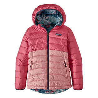 Junior Girls' [7-16] Reversible Down Sweater Hoody Jacket