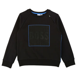 Junior Boys' [4-16] French Terry Crew Sweatshirt