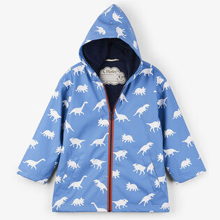 Boys' [2-8] Colour-Changing Silhouette Dinos Raincoat