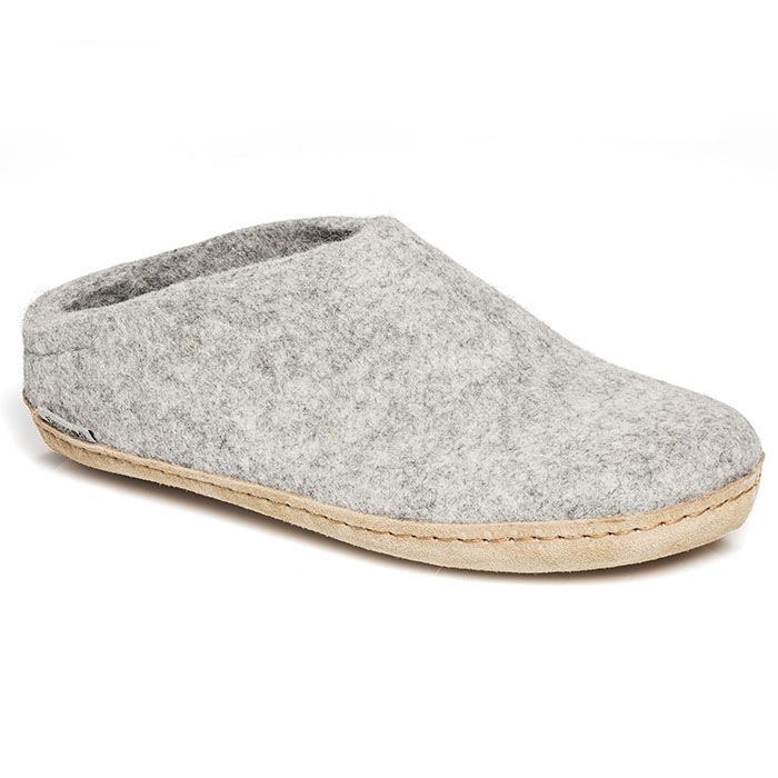 Pantoufles en laine pour femmes
