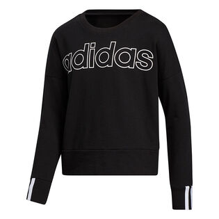 Junior Girls' [8-16] 3-Stripes Pullover Sweatshirt