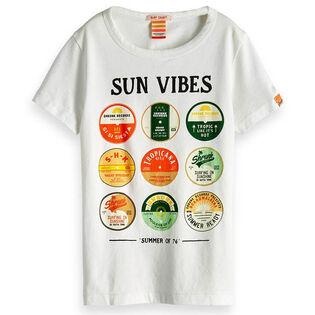 Junior Boys' [8-16] Record Art T-Shirt