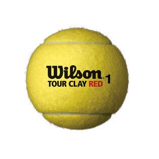 BALLES DE TENNIS TOUR CLAY GREEN (PAQUET DE 3)