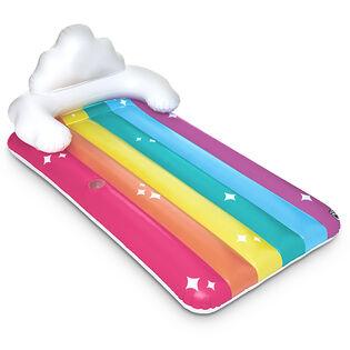 Chaise longue flottante Giant Rainbow