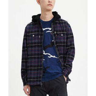 Men's Hooded Barstow Western Shirt