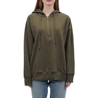 Women's Fleece 1/4-Zip Hoodie