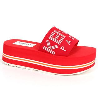 Women's Papaya Platform Slide Sandal