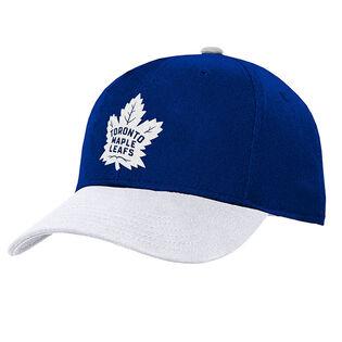 Juniors' [8-20] Toronto Maple Leafs Two-Tone Cap