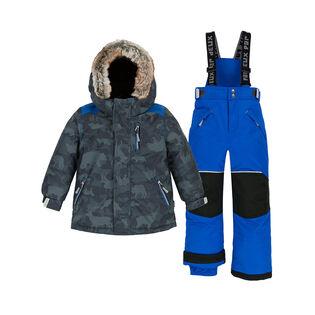 Boys' [2-6] Camo Animo Two-Piece Snowsuit