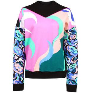 Women's Mixed Print Sweatshirt