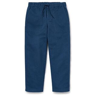 Pantalon en coton extensible fuselé pour garçons [5-7]