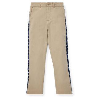 Pantalon chino extensible à coupe ajustée pour garçons juniors [8-20]