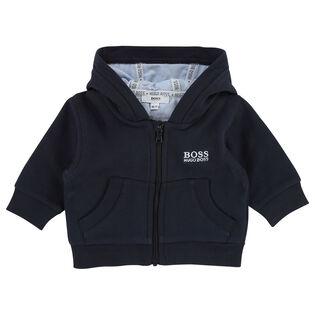 Baby Boys' [3-18M] Basic Zip Hoodie