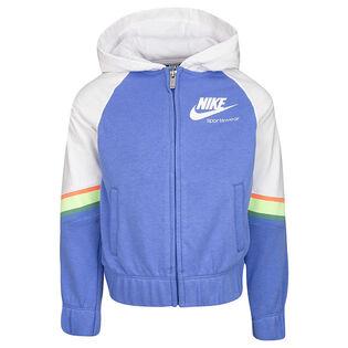 Girls' [4-6X] Sportswear Heritage Full-Zip Hoodie