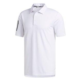 Polo Basic à 3 bandes pour hommes