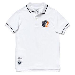 Junior Boys' [10-16] Sport Roland Garros Petit Pique Polo