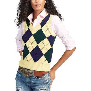 Women's Argyle Sweater Vest
