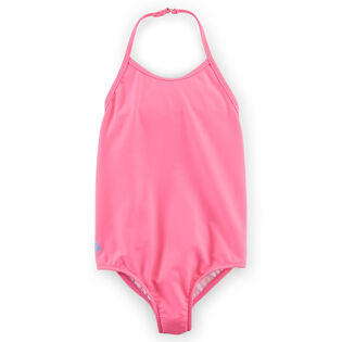 Girls' [2-4T] Solid One-Piece Swimsuit