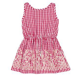 Girls' [3-6] Plaid Dress