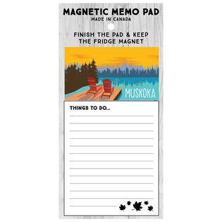 Muskoka Magnetic Memo Pad