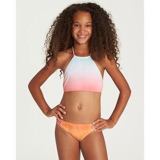 Junior Girls' [7-14] Hazy Daze High Neck Two-Piece Bikini