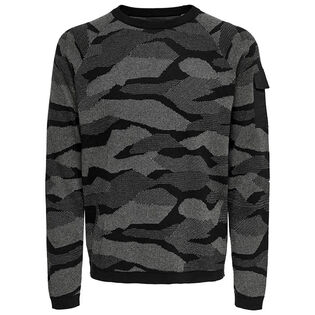 Men's Camo Crew Sweater