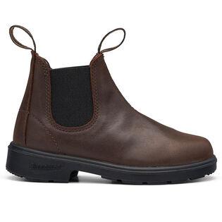 #1468 Kids' Chelsea Boot In Antique Brown