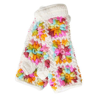 Women's Multi-Colour Floral Hand Warmer