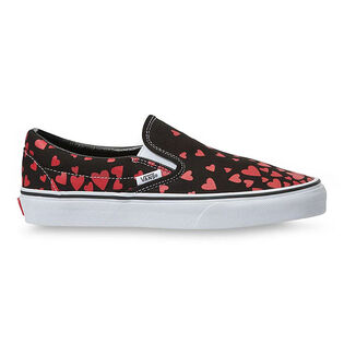 Women's Valentines Hearts Classic Slip-On Shoe