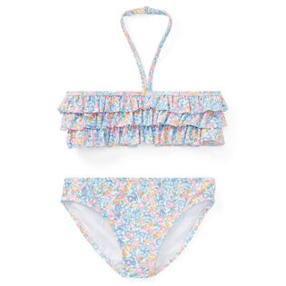 Girls' [2-4] Floral Two-Piece Swimsuit
