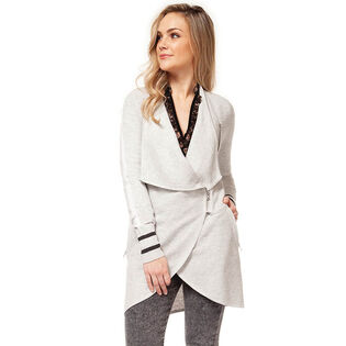 Women's Zip Waterfall Cardigan